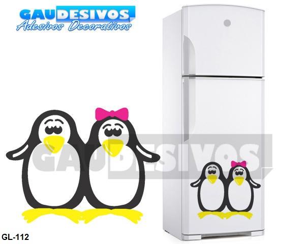 Adesivo De Olhos Para Biscuit ~ Adesivo Decorativo De Geladeira Pinguim Cozinha Freezer Box R$ 19,99 em Mercado Livre