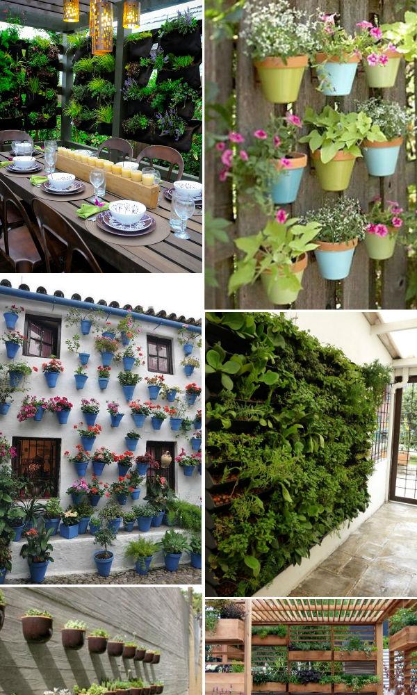 fazer iluminacao jardim:Anda em moda os chamados Jardins Verticais tanto como modismo, mas