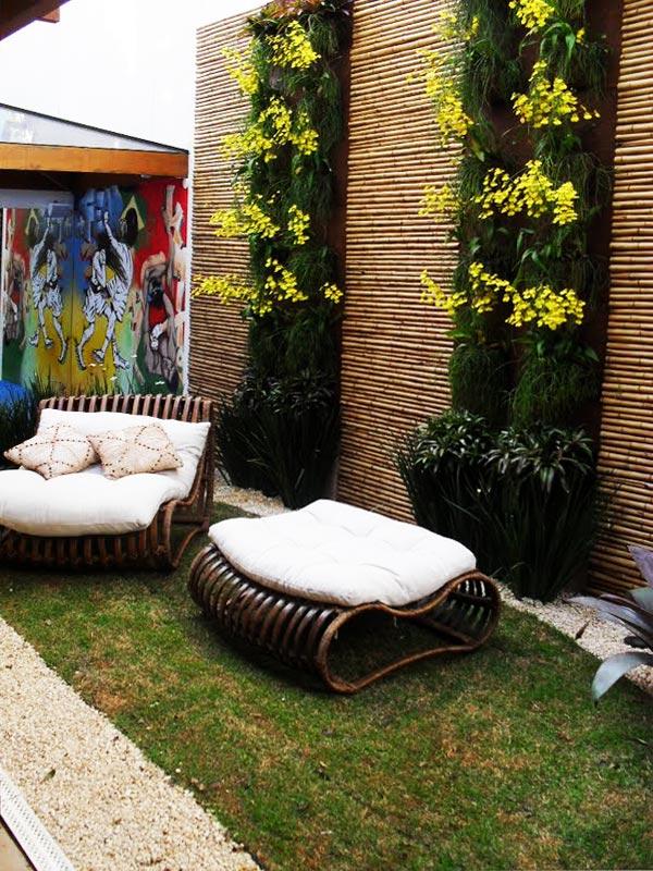 ideias jardim exterior:Como fazer jardim vertical
