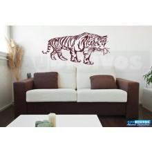 Adesivo Decorativo onça Tigre