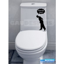 Adesivo de parede decorativos banheiro você fez isso