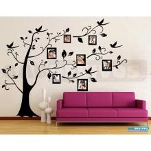Adesivo Parede Árvore Genealógica Porta Retrato Personalizado