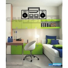 Adesivos musicais Radio