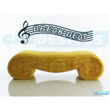 Adesivos Músicais Break Beat