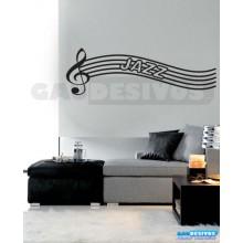 Adesivos Músicais Jazz