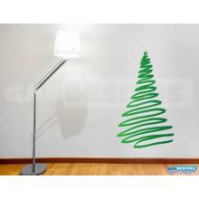Adesivos De Natal Arvores