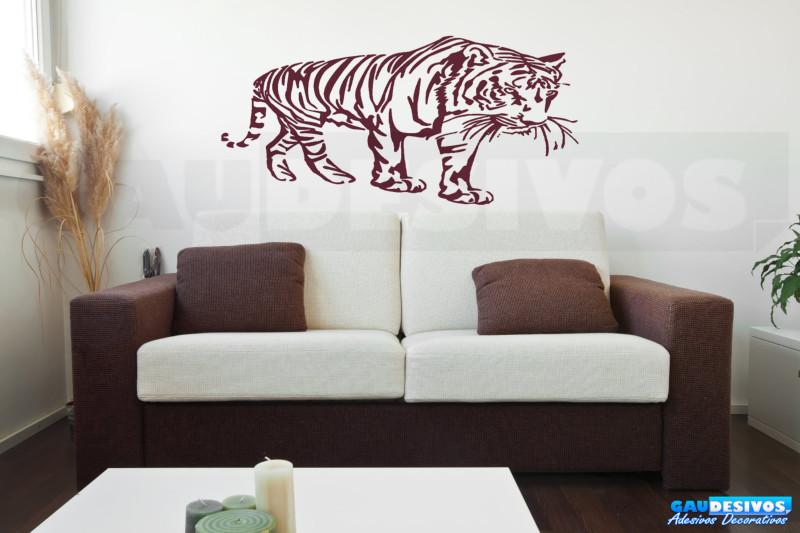 Armario Niños Ikea ~ Adesivo Decorativo onça Tigre Diversos