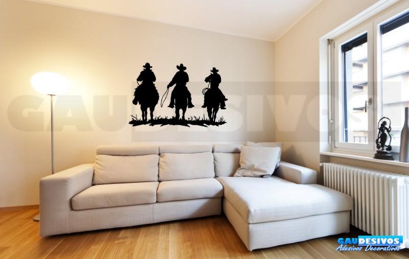 Adesivos Decorativos 3 Cowboy Cavalgando b89399303c4