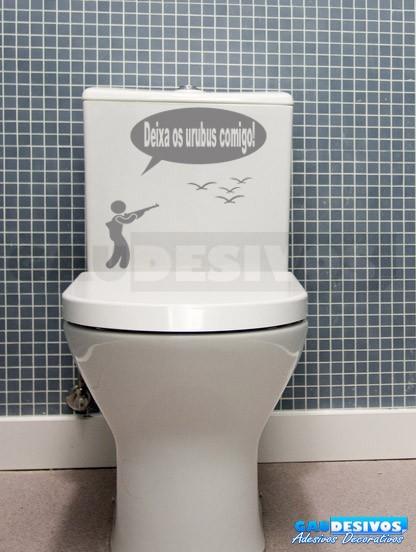Adesivo Infantil De Parede ~ Adesivo de parede decorativos banheiro Urubus Banheiro