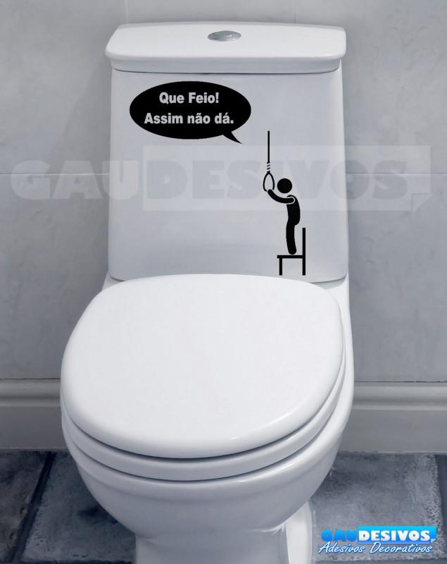 Artesanato Com Feltro Para Vender ~ Adesivo de parede decorativos banheiro Forca