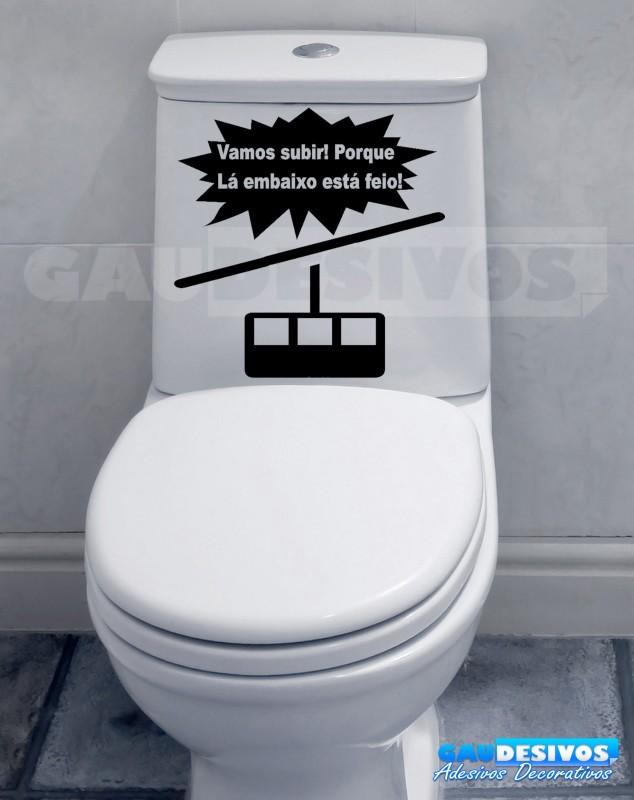 Adesivo Infantil De Parede ~ Adesivo de parede decorativos banheiro Subindo