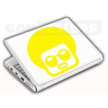 Adesivos de Notebook Personalize com sua cara Punk