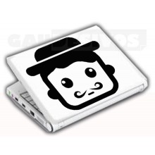 Adesivos de Notebook Personalize com sua cara Rap