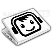 Adesivos de Notebook Personalize com sua cara Rockeiro