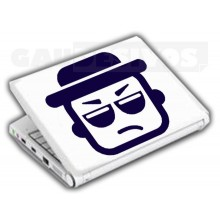 Adesivos de Notebook Personalize com sua cara DJ