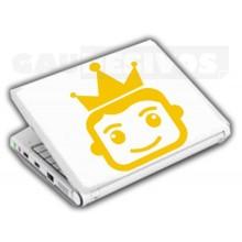 Adesivos de Notebook Personalize com sua cara Nervoso