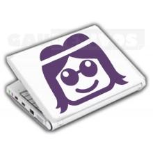 Adesivos de Notebook Personalize com sua cara Rei