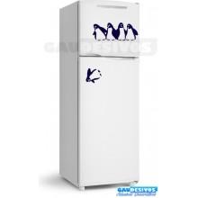 Adesivos de geladeira piguins