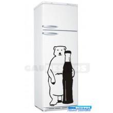 Adesivos de geladeira urso