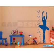 Adesivos Infantis Régua Bailarina 1