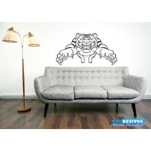 Adesivo Tigre Mal