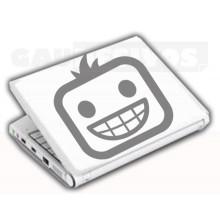 Adesivos de Notebook Personalize com sua cara Alegre