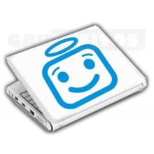 Adesivos de Notebook Personalize com sua cara Anjinho