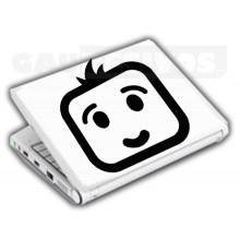 Adesivos de Notebook Personalize com sua cara Preocupado
