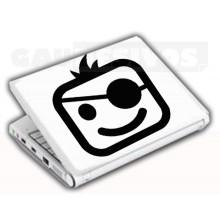 Adesivos de Notebook Personalize com sua cara Pirata