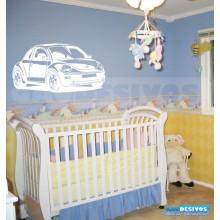 Adesivos decorativos de carro New Beetle