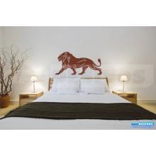 Adesivo De Parede Decorativo Leão