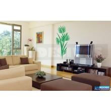 Adesivo Decorativo de parede Floral e plantas