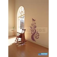 Adesivo Decorativo de parede Floral arvore grande