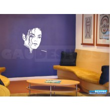 Adesivo Decorativo do Michael Jackson
