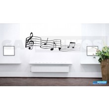 Adesivo Decorativo Nota Musicais