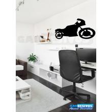 Adesivo De Parede Decorativo Motos Extra Grande