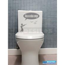 Adesivo de parede decorativos banheiro Urubus