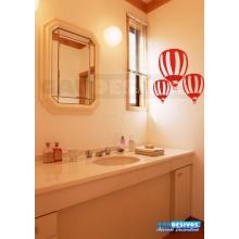 Adesivo de parede decorativos banheiro Balão