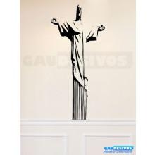 Adesivo Decorativo. Estatua e Monumento - Cristo Redendo
