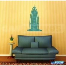 Adesivo decorativo estatua e monumento - Burj Dubai