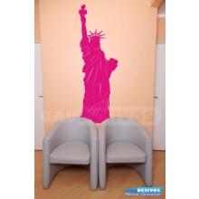 Adesivo decorativo estatua e monumento - Estatua da Liberdade