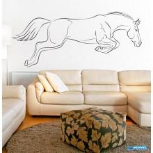 Adesivo Decorativo Para Quarto, Sala, etc. Animal Cavalo Femea