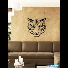 Adesivo Decorativo de Parede Animal Cara do Tigre