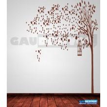 Adesivos  Arvores com Pássaros de 2 metros