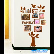 Adesivo Decorativo de Parede Árvore Family Genealógica