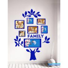 Adesivo Decorativo de Parede Árvore Para Familia