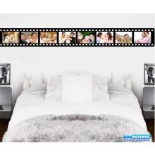 Adesivos Para Casa Porta Retrato Filme Horizontal 8 Fotos (Tamanho da Foto: 10x15cm)