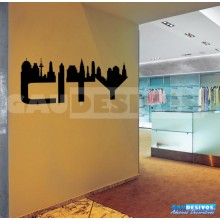 Adesivos de Cidades City