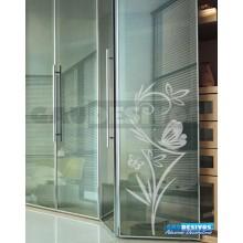 Adesivo Decorativo para Vidro/Box Grande Borboleta Jateado