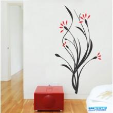 Adesivo Decorativo de Parede Floral Capinzal